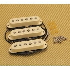099-2117-000 Genuine Fender Original 57/62 White Stratocaster Strat Pickups Set 0992117000