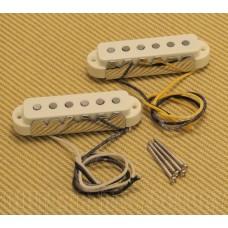 099-2238-000 Fender Pure American Vintage '65 Jaguar Guitar Pickups Aged White