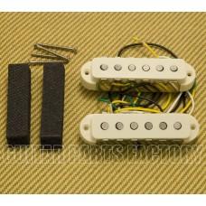 099-2271-000 Fender V-Mod Aged White Jaguar Guitar Pickup Set 0992271000