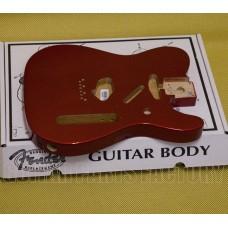 099-8006-709 Genuine Fender Telecaster® Body (Vintage Bridge) - Candy Apple Red