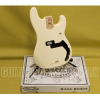 099-8010-780 Genuine Fender White Mexican Precision Bass Replacement Body 0998010780