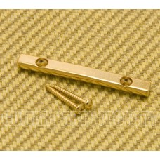 10197-G Gold Peghead-Mount Bar String Retainer Guitar/Bass