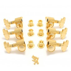 109G Grover Gold Super Rotomatic Tuners for Gibson®/Epiphone® Guitar