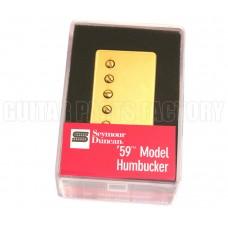 11101-01-Gc4c Seymour Duncan '59 Neck Humbucker SH-1n-GOLD-4-CON