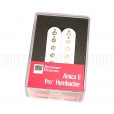 11104-01-W Seymour Duncan APH-1n Alnico II Pro Neck Guitar Humbucker White
