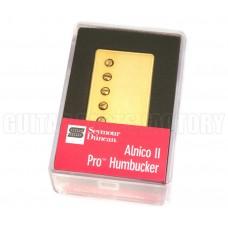 11104-05-GC Seymour Duncan APH-1b Alnico II Pro Bridge Guitar Humbucker Gold