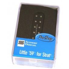 11205-21-B Seymour Duncan Little '59 Neck/Mid Black Strat Guitar Pickup SL59-1n