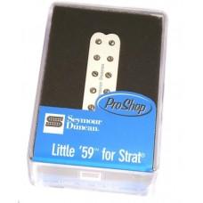 11205-22-W Seymour Duncan Little '59 Bridge Guitar Pickup Strat White