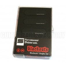 11206-12-B Seymour Duncan Blackouts Single for Strat - Black AS-1s-Black