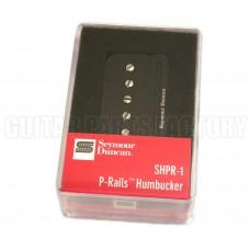 11303-01-B Seymour Duncan Black P-Rails Neck Humbucker SHPR-1n