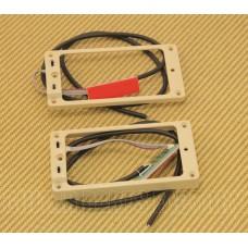 11806-05-Cr TS-2s-Cream Seymour Duncan Cream Triple Shot Curved Pickup Ring Set