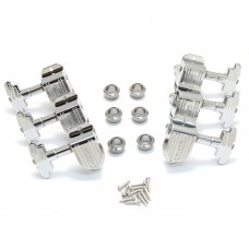 150C Grover Chrome Imperial Stair Step Guitar Tuners Machine Heads