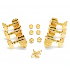150G Grover Gold Imperial Stair Step Guitar Tuners Machine Heads