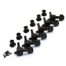 205BC6 Black Grover Roto Tuners 6 Inline