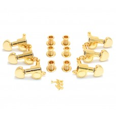 205G Grover Gold Mini Rotomatic 3+3 Guitar Tuners