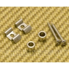 SGVW-N (2) Nickel Vintage Style String Guides for Guitar