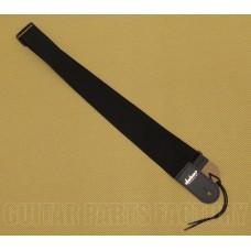 299-0662-006 Genuine Jackson Black Long Nylon Logo Strap for Guitar/Bass 2990662006