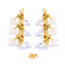 303G Grover Standard Gold Classical Tuners