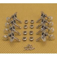 "304C Chrome Grover Sta-Titeâ""¢ Mandolin Tuners Machines Tuning Pegs"