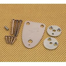 3BOLTKIT-G Fender USA 3-bolt Guitar Neck Plate Kit 70s Stratocaster Telecaster Strat Tele