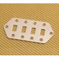 770-3018-000 Squier Vintage Modified Bass VI Guitar Upper Chrome Control Plate