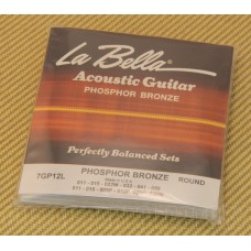 7GP12L La Bella Acoustic Guitar 12 String