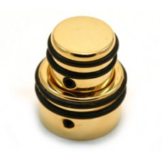 80610G Hipshot O-Ring Gold Stacked Knob