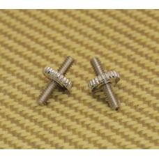 8400 Mandolin Bridge Nickel Old Style Thumbwheel Studs
