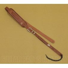 922-0021-000 Gretsch Guitar Tooled Leather Natural Cowboy Strap Guitar/Bass 9220021000