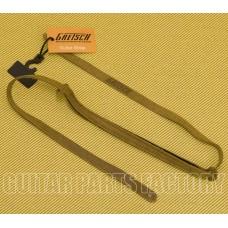 922-0080-101 Gretsch G Brand Logo Suede Brown Leather Mandolin Strap 9220080101