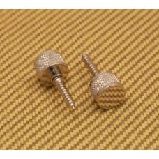 922-1030-000 Genuine Gretsch Chrome Strap Buttons w/Hanger Bolts for Guitar/Bass