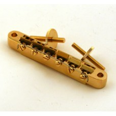 GOLD ABR STYLE TUNEMATIC BRIDGE WIDE SPACING