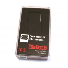 11106-40-B Seymour Duncan Blackouts AHB-2b	Metal Bridge Pickup - Black