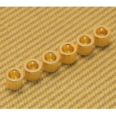 AP-0087-002 (6) Gold Body Ferrules for Guitar
