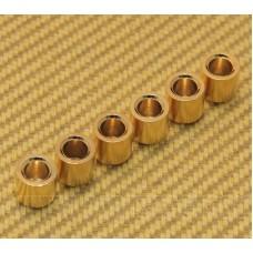 AP-0187-002 (6) Gold Flush Mount 3/8 Body Ferrules