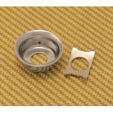 AP-0275-010 Chrome Cup Jack Plate for Tele