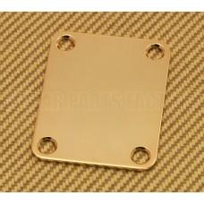 AP-0600-002 Gotoh Gold 4-Bolt Neck Plate For Fender Guitar & Bass Standard Size