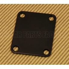 AP-0600-003 Black 4 Bolt Neck Plate Neckplate Guitar/Bass