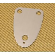 AP-0605-010 Chrome 3-Bolt Guitar Neck Plate for Guitar