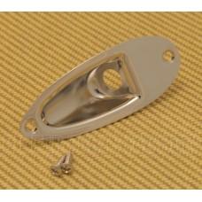 AP-0610-001 Gotoh Nickel Jack Plate for Strat