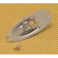 AP-0610-010 Gotoh Chrome Jack Plate For Fender Strat Guitar