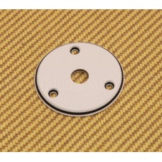 AP-0614-035 White 3-Ply Round Jack Plate for Vee