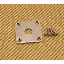AP-0633-001 Gotoh Nickel Jack Plate for Les Paul