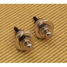AP-0681-001 Schaller Nickel Strap Locks Straplocks For Guitar/Bass