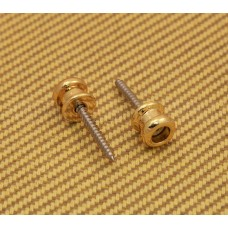 AP-0682-002 (2) Gold Buttons & Screws for Schaller Strat Locks