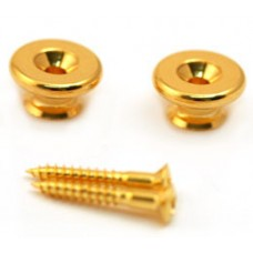 AP-0684-002 Gold Gotoh Oversized Strap Buttons for Guitar & Bass