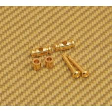 AP-0727-002 Gotoh Gold Barrel String Guides for Guitar