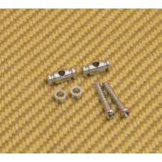 AP-0727-010 Gotoh Chrome Barrel String Guides for Guitar