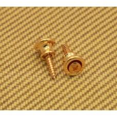 AP-6695-002 Gotoh Gold Strap Buttons & Screws For GIBSON® Guitar/Bass