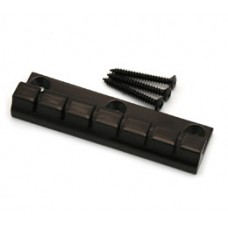 ATP-6-B Black 6-String Anchor Style Tailpiece